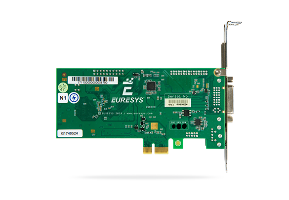 Euresys - Video capture cards for standard PAL/NTSC cameras